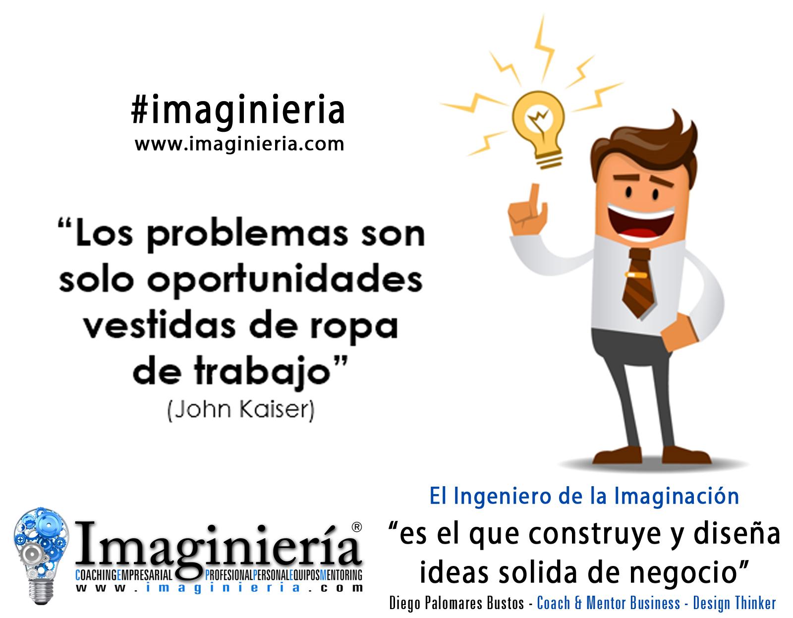 Definir el problema con creatividad nos dará la solución